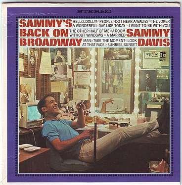 SAMMY DAVIS JR - SAMMY'S BACK ON BROADWAY - REPRISE