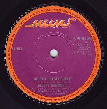 ALBERT HAMMOND - THE FREE ELECTRIC BAND - MUMS