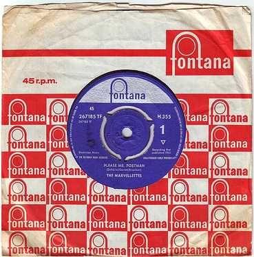 MARVELETTES - PLEASE MR. POSTMAN - FONTANA