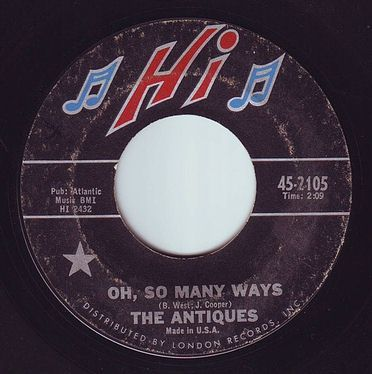 ANTIQUES - OH, SO MANY WAYS - HI