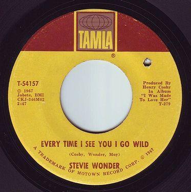 STEVIE WONDER - EVERYTIME I SEE YOU I GO WILD - TAMLA