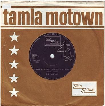 FOUR TOPS - CAN'T SEEM TO GET YOU OUT OF MY MIND - TMG 710