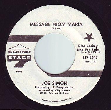 JOE SIMON - MESSAGE FROM MARIA - SS7 DEMO