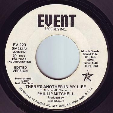 PHILLIP MITCHELL - THERE'S ANOTHER IN MY LIFE - EVENT DEMO