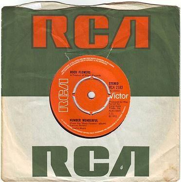 ROCK FLOWERS - NUMBER WONDERFUL - RCA