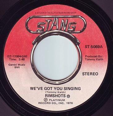 RIMSHOTS - WE'VE GOT YOU SINGING - STANG