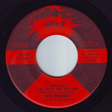 OTIS REDDING - THE DOCK OF THE BAY - VOLT