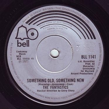 FANTASTICS - SOMETHING OLD, SOMETHING NEW - BELL