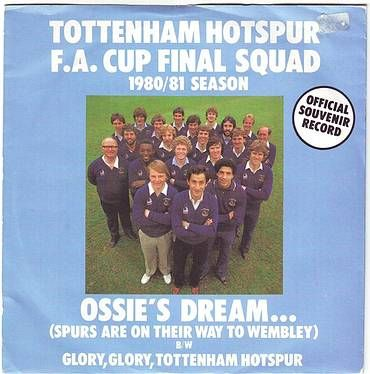 TOTTENHAM HOTSPUR FA CUP FINAL SQUAD - OSSIE'S DREAM - SHELF