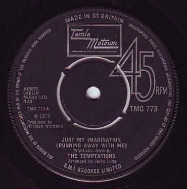 TEMPTATIONS - JUST MY IMAGINATION - TMG 773