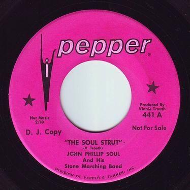 JOHN PHILLIP SOUL - THE SOUL STRUT - PEPPER DEMO