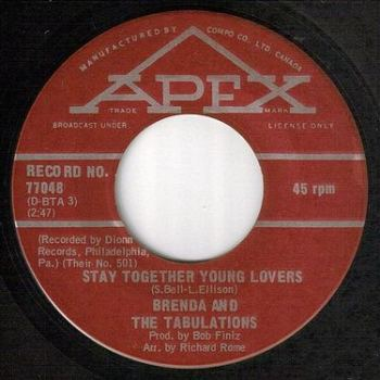 BRENDA & TABULATIONS - STAY TOGETHER YOUNG LOVERS - APEX
