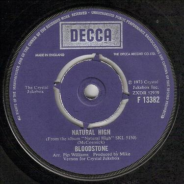 BLOODSTONE - NATURAL HIGH - DECCA