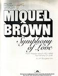 MIQUEL BROWN - SYMPHONY OF LOVE - POLYDOR dj