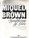 MIQUEL BROWN - SYMPHONY OF LOVE - POLYDOR dj