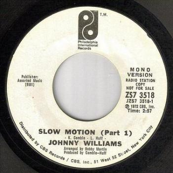 JOHNNY WILLIAMS - SLOW MOTION - PIR dj