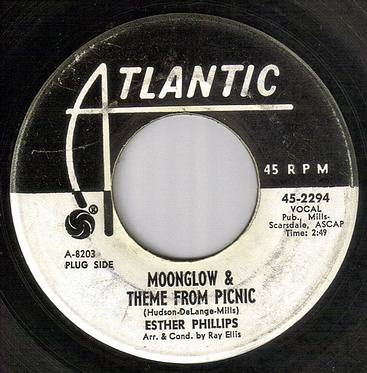 ESTHER PHILIPS - MOONGLOW & THEME FROM PICNIC - ATLANTIC dj