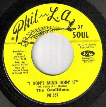 COALITIONS - I DON'T MIND DOIN' IT - PHIL LA OF SOUL
