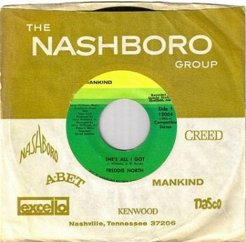 FREDDIE NORTH - SHE'S ALL I GOT - MANKIND