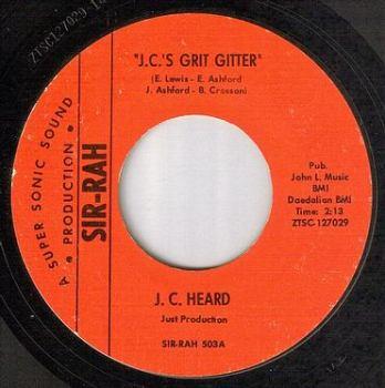 J.C. HEARD - J.C.'S GRIT GITTER - SIR-RAH