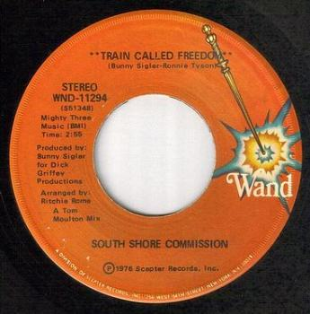 SOUTH SHORE COMMISSION - TRAIN CALLED FREEDOM