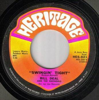 BILL DEAL - SWINGIN' TIGHT - HERITAGE