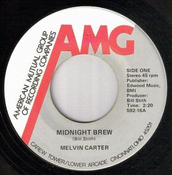 MELVIN CARTER - MIDNIGHT BREW - AMG