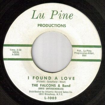 FALCONS - I FOUND A LOVE - LU PINE