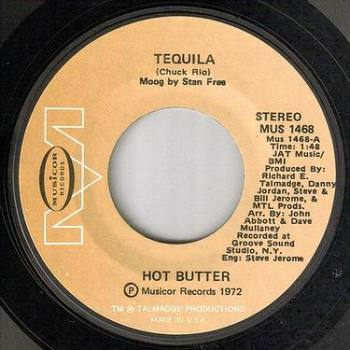 HOT BUTTER - TEQUILA - MUSICOR