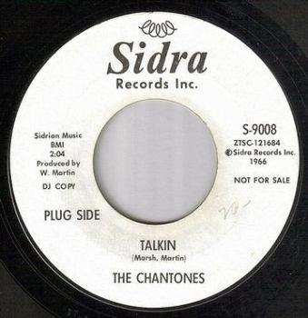 CHANTONES - TALKIN - SIDRA DJ