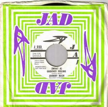 JOHNNY NASH - (WHAT A) GROOVEY FEELING - JAD DJ