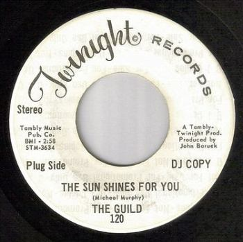 GUILD - THE SUN SHINES FOR YOU - TWINIGHT DJ