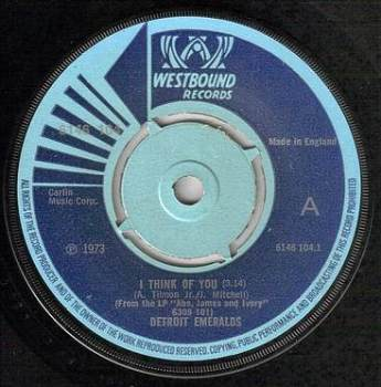 DETROIT EMERALDS - I THINK OF YOU - WESTBOUND