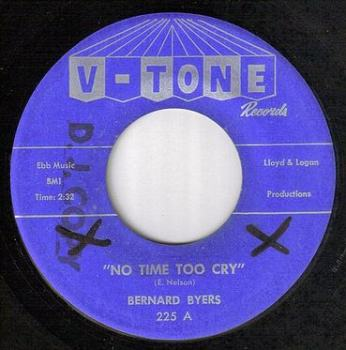 BERNARD BYERS - NO TIME TO CRY - V-TONE
