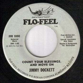 JIMMY DOCKETT - COUNT YOUR BLESSINGS AND MOVE ON - FLO-FEEL