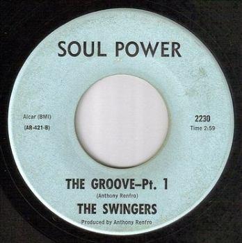 SWINGERS - THE GROOVE - SOUL POWER