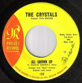 CRYSTALS - ALL GROWN UP - PHILLES
