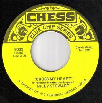 BILLY STEWART - CROSS MY HEART - CHESS