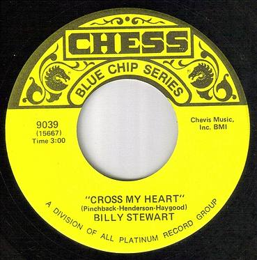 BILLY STEWART - CROSS MY HEART - CHESS