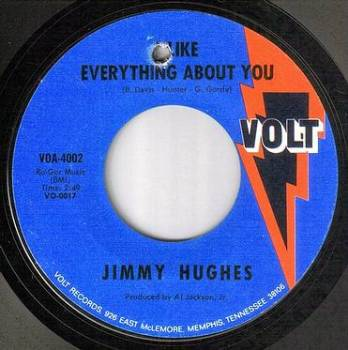 JIMMY HUGHES - I LIKE EVERYTHING ABOUT YOU - VOLT