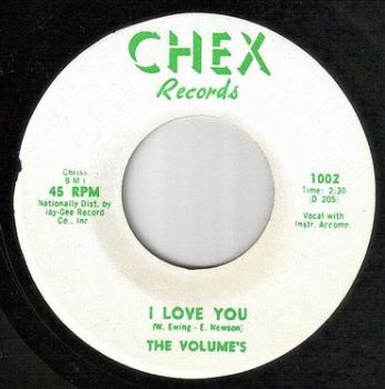 VOLUMES - I LOVE YOU - CHEX