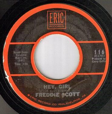 FREDDIE SCOTT - HEY GIRL - ERIC