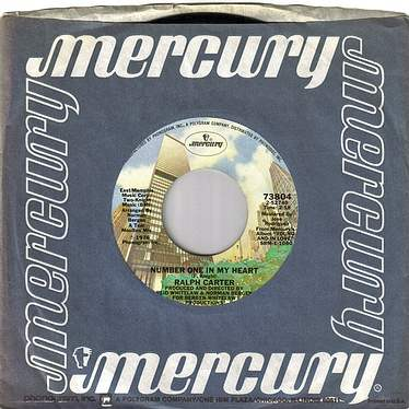 RALPH CARTER - NUMBER ONE IN MY HEART - MERCURY