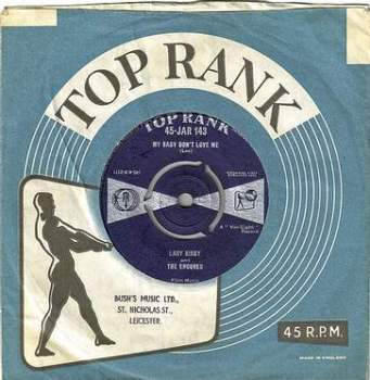 LARRY KIRBY & THE ENCORES - MY BABY DON'T LOVE ME - TOP RANK