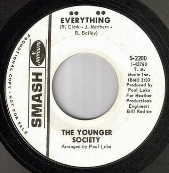 YOUNGER SOCIETY - EVERYTHING - SMASH DJ
