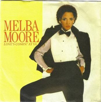 MELBA MOORE - LOVE'S COMING AT YA - EMI AMERICA