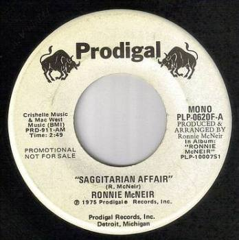 RONNIE McNEIR - SAGGITARIAN AFFAIR - PRODIGAL DJ