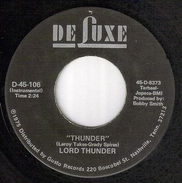 LORD THUNDER - THUNDER - DELUXE