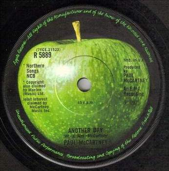 PAUL McCARTNEY - ANOTHER DAY - APPLE