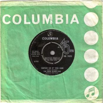 DAVE CLARK FIVE - CATCH US IF YOU CAN - COLUMBIA